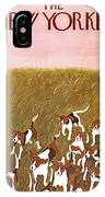 New Yorker November 6th, 1965 IPhone X Case