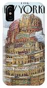 New Yorker October 2nd, 1995 IPhone X Case