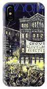 New Yorker October 31 1936 IPhone X Case