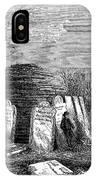 Newark Cemetery, 1876 IPhone Case