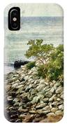 Newport Cliff Walk IPhone Case