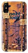 Next Load IPhone Case