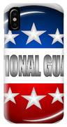 Nice National Guard Shield IPhone Case