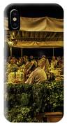 Night At The Cafe - Taormina - Italy IPhone Case