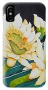 Night Blooming Cactus IPhone Case