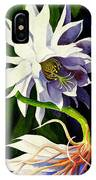 Night Blooming Cereus IPhone Case