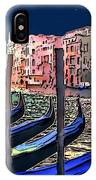 Night Falls In Venice IPhone Case