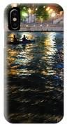 Night Kayak Ride IPhone Case