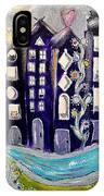 Night Kittyscape IPhone Case