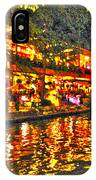 Night Life By The River Walk IPhone Case