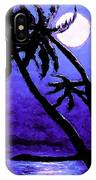 Night On The Islands Painterly Brushstrokes IPhone Case