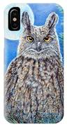 Night Watchman IPhone Case