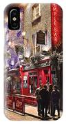 Nights In The Temple Bar IPhone Case