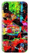 Nighttown Jazz  I IPhone Case