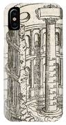 Nilometer In Egypt, 17th-century Artwork IPhone Case