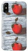 Nine Apples IPhone Case
