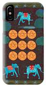 Nine Of Pentacles IPhone Case