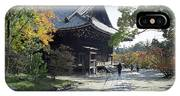 Ninna-ji Temple Compound - Kyoto Japan IPhone Case