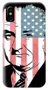 Lyndon Johnson IPhone Case