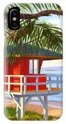 No Guard On Duty - Kamaole Beach IPhone Case