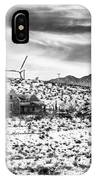 No Place Like Home Bw Palm Springs Desert Hot Springs IPhone Case