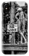 No Wake - Bw IPhone Case