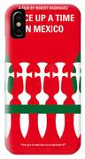 No058 My Once Upon A Time In Mexico Minimal Movie Poster IPhone Case