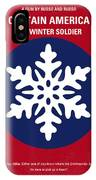 No329 My Captain America - 2 Minimal Movie Poster IPhone Case