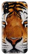 Nobility   Amur   Siberian  Tiger IPhone Case