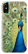 Noble Peacock IPhone Case