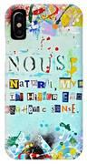 Nominus  IPhone Case