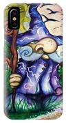 Norm The Little Old Wizard IPhone Case