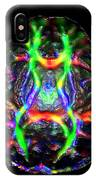 Normal Brain Diffusion Tractography IPhone Case