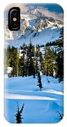 North Cascades Winter IPhone Case