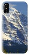 1m3549-north Face Of Mt. Temple IPhone Case