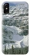 1m3536-north Side Of Crowfoot Mountain IPhone Case