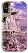 North Topsail Beach Tides That Tell IPhone Case