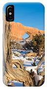 North Window Arch IPhone Case