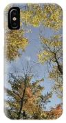North Woods In The Fall IPhone Case