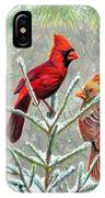 Northern Cardinals IPhone Case