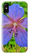 Northern Geranium In Jasper National Park-alberta  IPhone Case