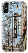 Northern Hotel IPhone Case