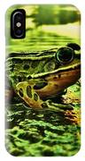 Northern Leopard Frog IPhone Case