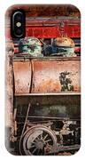 Northern Pacific Vintage Locomotive Train Engine IPhone Case
