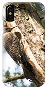 Northern Red Shafted Flicker IPhone Case