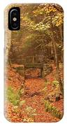 Northumberland, England  A Creek IPhone Case