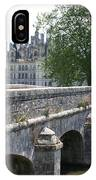 Northwest Facade Of The Chateau De Chambord IPhone Case