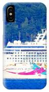 Norwegian Jewel Cruise Ship IPhone Case