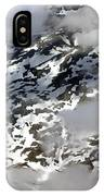Norwegian Mountains From On High IPhone Case