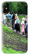 Norwegian Schoolchildren At Norwegian Folk Museum IPhone Case